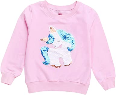 Toddler Kids Girl Hoodie Sweatershirt Xmas Hooded Tops T-shirt Pullover 2018