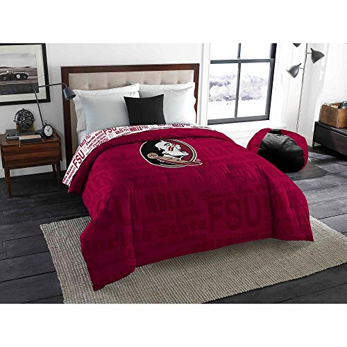 Northwest NCAA Florida State Semioles Anthem Twin/Full Bedding Comforter Only ()