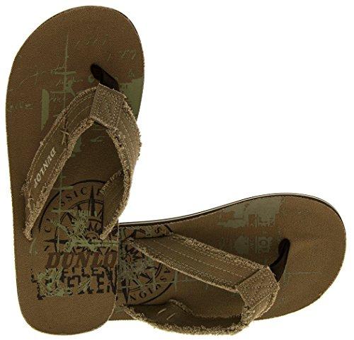 Footwear Studio - Sandalias de vestir para hombre verde - caqui