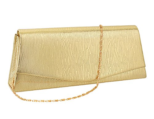 Clutch Flap 53 Chain Detachable Bag Bag Naimo With Gold Evening Dazzling Small dtnHwqF