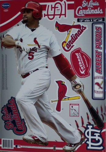 Albert Pujols St. Louis Cardinals Teammate Player Fathead