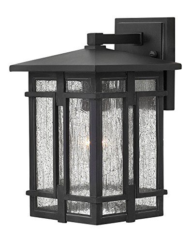 Hinkley 1960MB Transitional One Light Wall Mount from Tucker collection in Blackfinish,