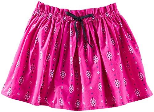 OshKosh B'Gosh Little Girls' Woven Print Skirt (Toddler/Kid) - Pink - 6 -