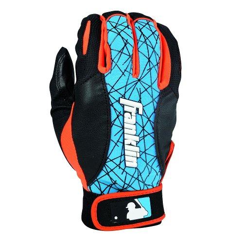 Nike Batting Gloves Orange: Franklin Sports MLB 2nd-Skinz Batting Gloves Pair, Blue