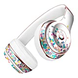 Multicolor Polka Dot Over White DesignSkinz Full-Body Skin Kit for the Beats by Dre Solo 2 Wireless Headphones / Ultra-Thin / Matte Finished / Protective Skin Wrap