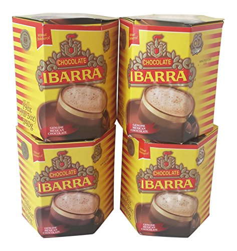 Frothy Hot Chocolate - Ibarra Choc Bar