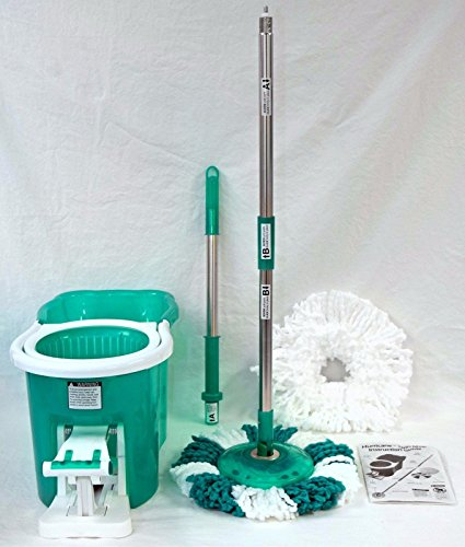Telebrands Hurricane 360-degree Spin MopBucket in GREEN As Seen on TV Magic