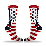 Donald-Trump-American-Flag-Pattern-Unisex-Adult-Crew-Fashion-Novelty-Socks