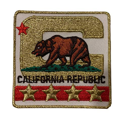 Los Angeles California Captain C Patch - Premium Limited Alternate Edition - Iron On for Football Jersey