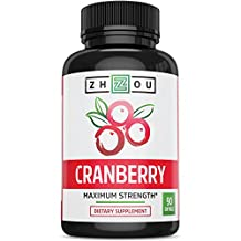 Cranberry + for Maximum Urinary Tract Support - Non GMO & Gluten Free Antioxidant Formula to Fight Infection & Immune System Support - Vitamin C & E for Bladder & Kidney Health - Once Daily Softgels