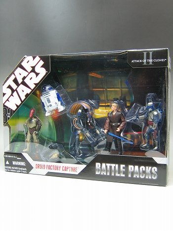 Star Wars 30th Anniversary Battle Pack Capture at Droid Factory