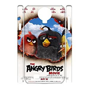 Dacase Samsung Galaxy S4 I9500 Cover, Angry Birds Custom 3D Samsung Galaxy S4 I9500 Case
