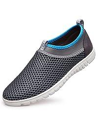 REETENE Men's Summer Sports Shoes Ultra-light Lazy Shoes for Men
