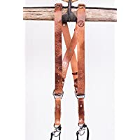 HoldFast Gear Money Maker Two-Camera Harness (Water Buffalo, Tan, Small Size)