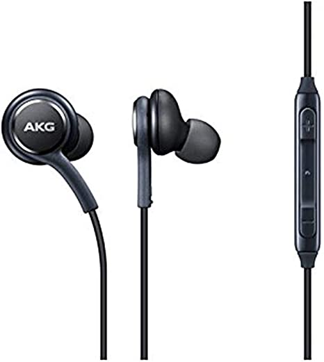 Note 9 Negro Bulk S10 Samsung S9 Auriculares Original AKG Harman Kardon EO-IG955 para Galaxy S8 Note 8
