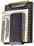 Secure, Slim Carbon Fiber Money Clip Wallet, RFID EDC Front Pocket Card Holder