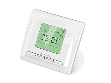 Thermostat Regler 760, für Elektro Fußbodenheizung, mit digitaler ...