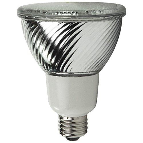 Reflector Fluorescent Watt 16 Par30 ((Case of 12) TCP PF3016 16-Watt 2700K CFL Flat PAR30 Floodlight)