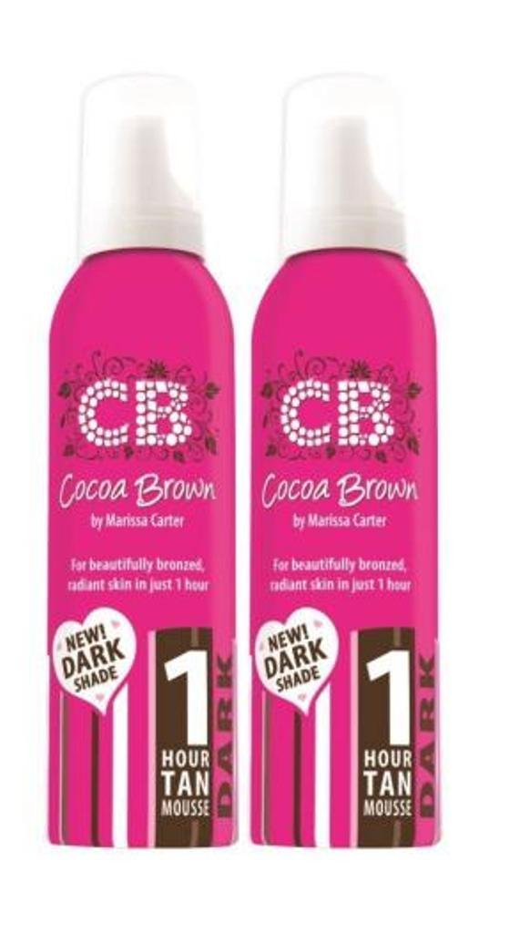 Cocoa Brown 1 Hour Tan Mousse Dark Twin Pack