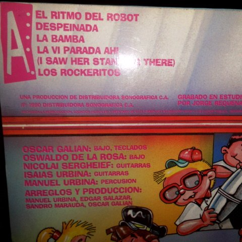 Los Rockeritos, Palito Ortega Chico Navarro, John Lennon-Paul McCartney, M. Urbina*, O. Galián E. Salazar*, David Hess, Ethel Lee Buddy Kaye, ...