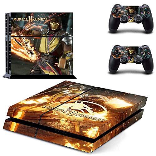 Amazon.com: Playstation 4 Skin Set - Mortal Kombat 11 HD ...