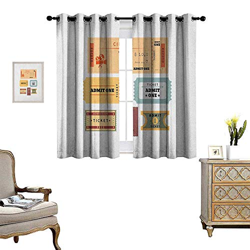 Warm Family Movie Theater Room Darkening Wide Curtains for sale  Delivered anywhere in Canada