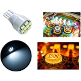 PA 10x T15#906 921 912 Flasher Strobe no Ghosting 3528 SMD 8 LED Pinball Game Machine Light Bulb White-12V(10pcs)