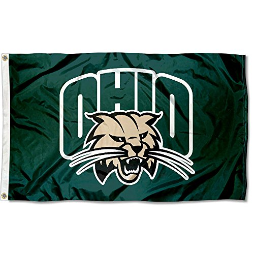 Ohio Bobcats University Large College (Ohio University Bobcats Logo)