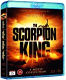 The Scorpion King (4 Film Collection) - 4-Disc Set ( The Scorpion King / The Scorpion King 2: Rise of a Warrior / The Scorpion King 3: Battle for Redemption / Th [ Blu-Ray, Reg.A/B/C Import - Sweden ]