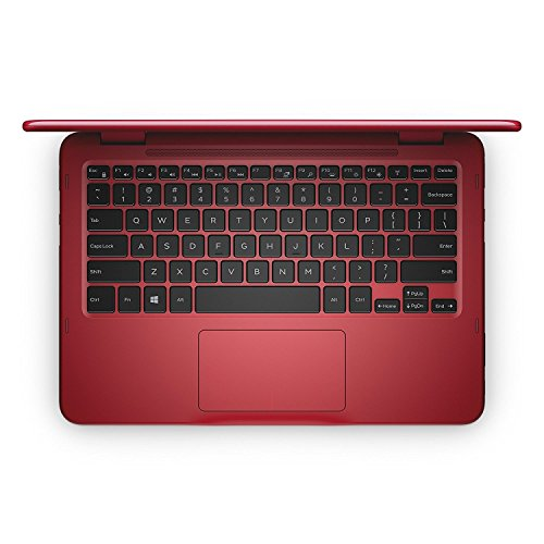 "2018 Newest Dell Inspiron Business Flagship 2 in 1 Laptop PC 11.6"" Touchscreen AMD A9-9420e Processor 4GB DDR4 RAM 500GB HDD WiFi HDMI Bluetooth Webcam Windows 10-Red"