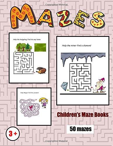 Children's Maze Books: 50 full color maze challenges for preschool children (Volume 1) pdf epub