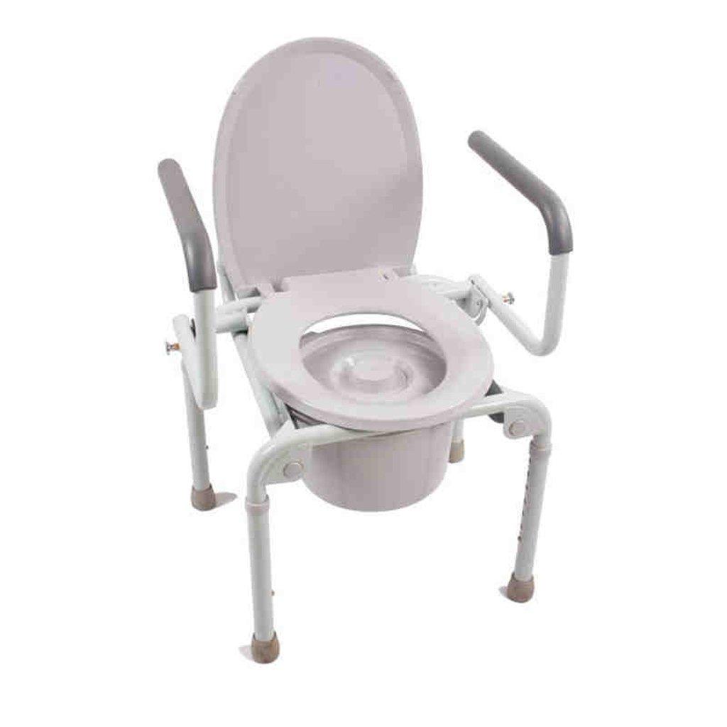 Shariv-シャワーチェア Características: acero grueso, liso, antideslizante, resistente al desgaste, cuchara de un solo paso, cojín de asiento extraíble, fácil de plegar, fácil de acomodar B07DR5YC86