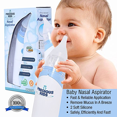 Baby Safety & Health Baby Safe Hygienic And Quick Battery Operated 100% Original Occobaby Baby Nasal Aspirator