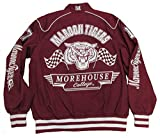 Morehouse College Tigers Varsity Trimmed HBCU lack College Mens Big & Tall Jacket (2x large)