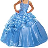 Teen Girls Pageant Dresses Floor Length Puffy Shiny Review and Comparison