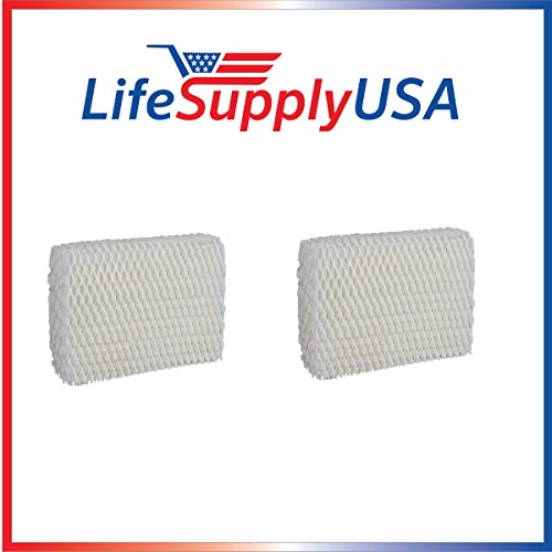 LifeSupplyUSA 2 Pack Humidifier Filter Compatible with Sears Kenmore Humidifier 14803 14804 Wick Filter. Compatible with Sears Kenmore Models 14804, 14103, 14104, 14113, 14114, 14121 and 14122 (Humidifier Filters Kenmore 14114)