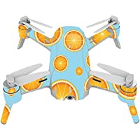 Skin For Yuneec Breeze 4K Drone – Orange Slices | MightySkins Protective, Durable, and Unique Vinyl Decal wrap cover | Easy To Apply, Remove, and Change Styles | Made in the USA