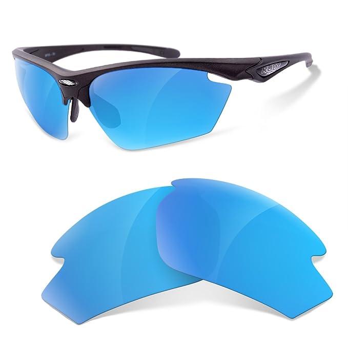sunglasses restorer Lentes Polarizadas de Recambio para Rudy Project Stratofly (Ice Blue)