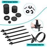 Electop 454 Pcs Car Retainer Clips & Plastic