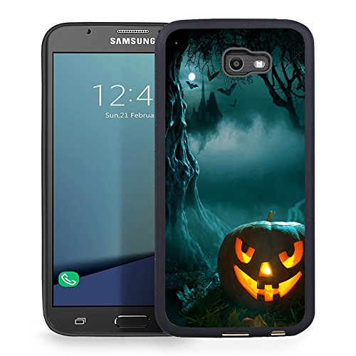Samsung Galaxy J7 2017 Case, J7 Prime, J7 2017(AT&T), J7 Sky Pro, J7 Perx case TPU Rubber Gel Design for Samsung Galaxy J7 V 2017 - New Halloween pumpkins for $<!--$3.40-->