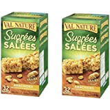Nature Valley Sweet and Salty Peanut Chewy Nut Bars, 1120 Gram, 2 Pack(32 Count)