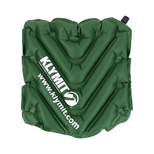 Klymit V Seat, Light Green - Seat Cushion Inflatable