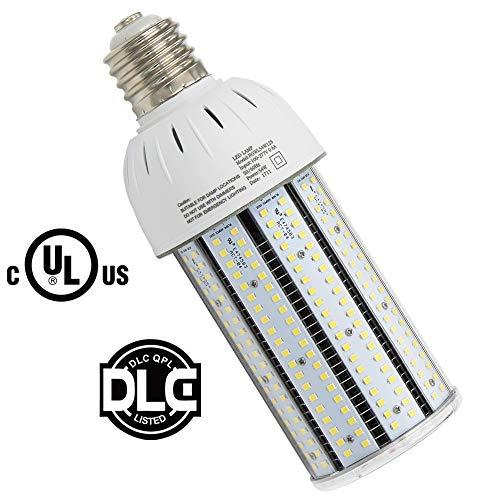 (Caree-LED 54W LED Corn Light (175Watt Metal Halide Equivalent) E39 Mogul Base,5000K Daylight White Parking Lot Street Area Light HPS,HID Replacement Bulb)