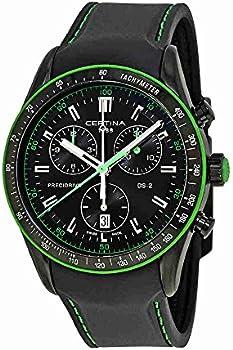 Certina DS-2 Chronograph Black Dial Men's Watch