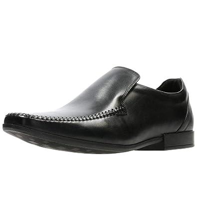 Clarks Clarks Mens Shoe Glement Seam Black: Amazon.es: Zapatos y complementos
