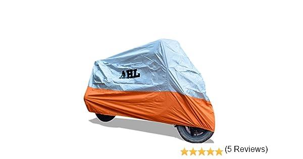AHL Funda para moto Funda Protector Cubierta Resistente A prueba de UV Azul,L