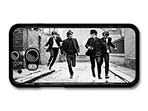 AMAF ? Accessories The Beatles Running Street Black & White Rockstars case for HTC One M8