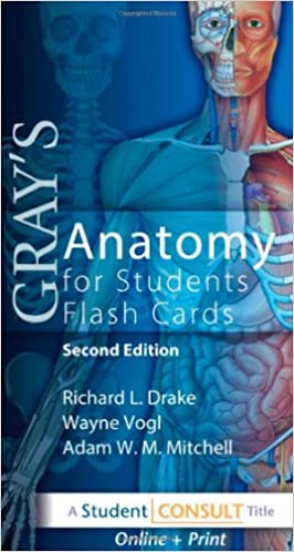 Grays Anatomy For Students Flash Cards With STUDENT CONSULT Online Access 2nd Edition