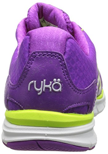 Ryka Women s Dynamic Synthetik Laufschuh Sugar Plum/lime Shock/white