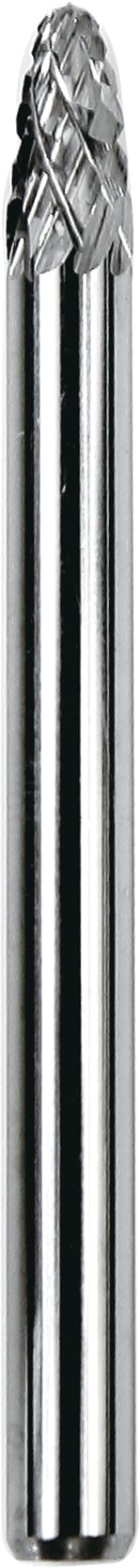Dedeco 12604 Carbide Bur, Double-Cut, Tree-Radius
